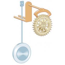 Выкачка у механических часов с маятником