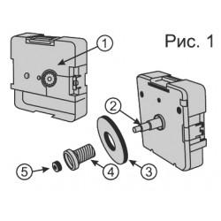 Как подобрать комплектующие и собрать механизм Hermle W2100