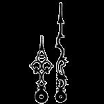 Стрелки для механических часов механизмов
