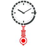 Кварцевые часовые механизмы с подвесом для маятника