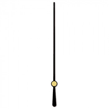 Секундная стрелка 69 black (68мм)