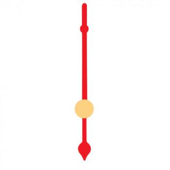 Секундная стрелка 8 red (34мм)