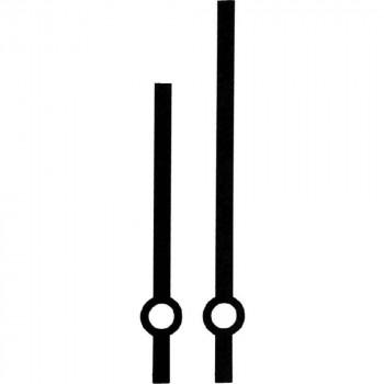 Комплект стрелок 02/А black (80/60мм)