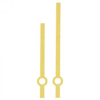 Комплект стрелок 02/А gold (80/60мм)
