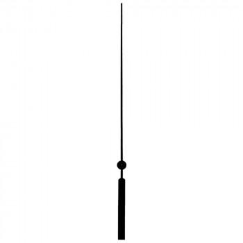 Секундная стрелка Sec. 125 black (83мм)