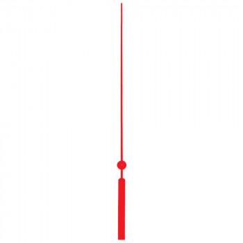 Секундная стрелка Sec. 125 red (83мм)