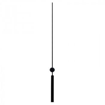 Секундная стрелка Sec. D black (123мм)
