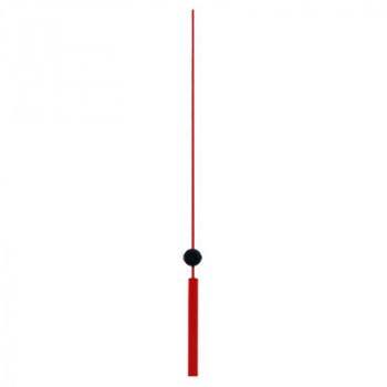 Секундная стрелка Sec. D red (123мм)
