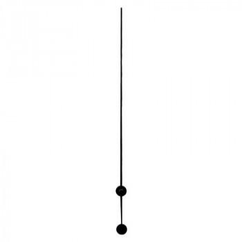 Секундная стрелка Sec. G black (110мм)