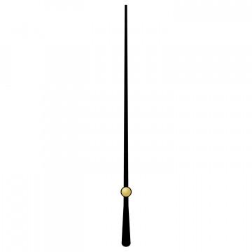 Секундная стрелка 126 black для механизмов ETA и Sangtai