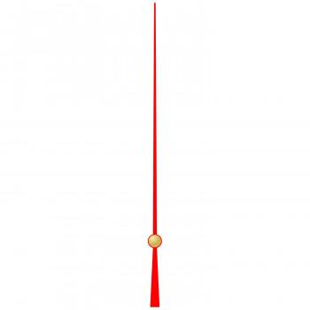 Секундная стрелка 256 red (115м)