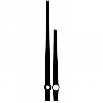 Комплект стрелок 3378 black (95/63мм)