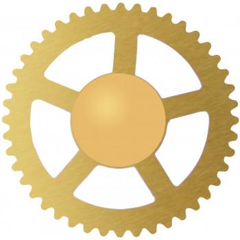 Заглушка 55 gold (8мм)