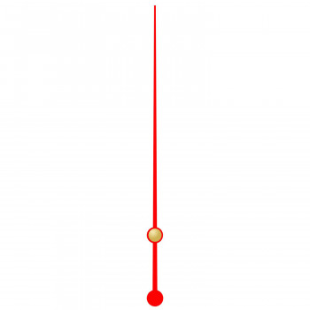 Секундная стрелка 61 red (60мм)