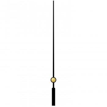 Секундная стрелка 75 black (80мм)