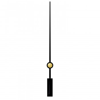 Секундная стрелка 95 black (50мм)