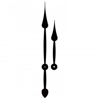 Комплект стрелок 093 black (295/225мм)