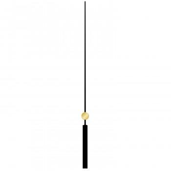 Секундная стрелка 6001 black (120мм)