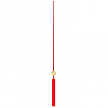 Секундная стрелка 6001 red (120м)