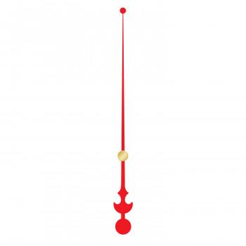 Секундная стрелка 6030 red (128мм)