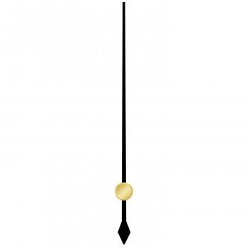 Секундная стрелка 6049 black (73мм)