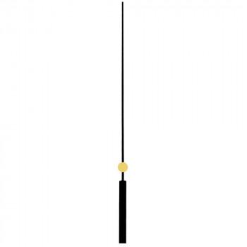 Секундная стрелка 6084 black (140мм)