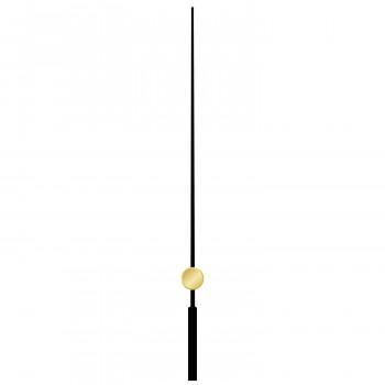 Секундная стрелка 617 black (90мм)