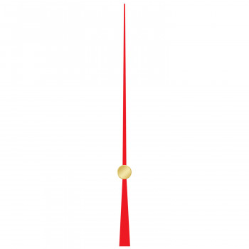 Секундная стрелка 624 red (60мм)