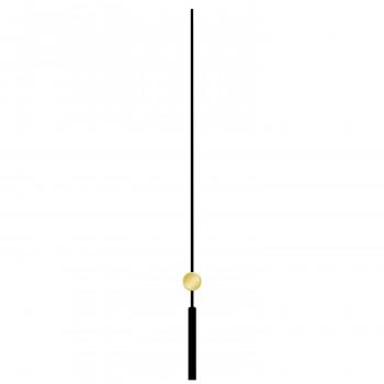 Секундная стрелка 677 black (100мм)