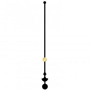 Секундная стрелка 692 black (97мм)