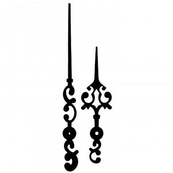 Комплект стрелок 7092 black (305/203мм)