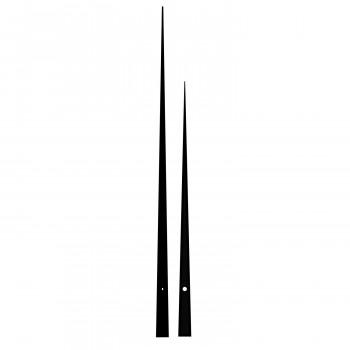 Комплект стрелок 9032 black (452/331мм)