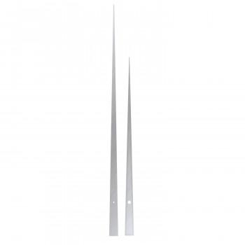 Комплект стрелок 9032 chrome (452/331мм)