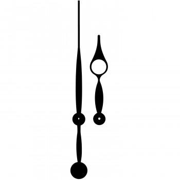 Комплект стрелок 977 black (347/244мм)