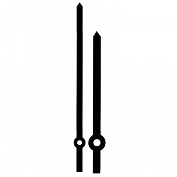 Комплект стрелок YT010 black (103/80мм)